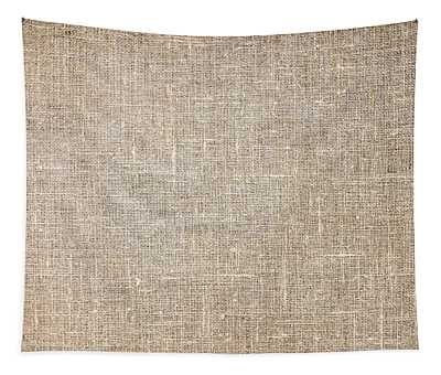 Raw Natural Linen Tapestry