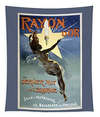 Rayon D'or Circus Vintage French Advertising Tapestry