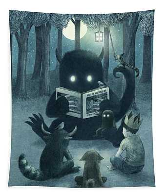 Reading Circle Tapestry