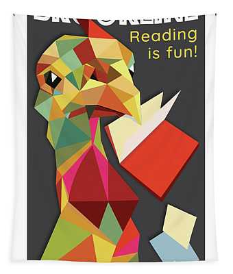 Reading Is Fun Tapestry