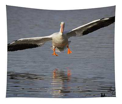 Ready For Landing Tapestry