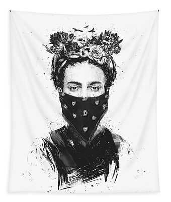 Rebel Girl Tapestry