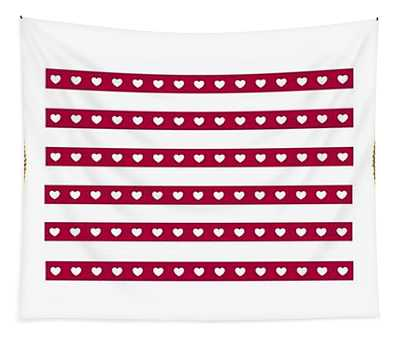 Red Heart Tapestry