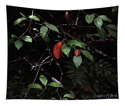 Red Leaf Tapestry