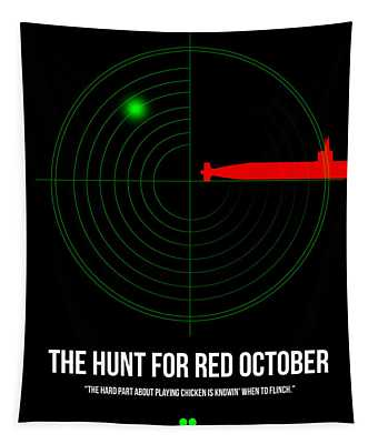 Red October Tapestry