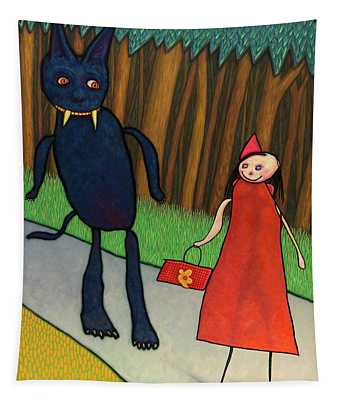 Red Ridinghood Tapestry