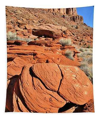 Red Rock Beauty Near Moab Utah Tapestry