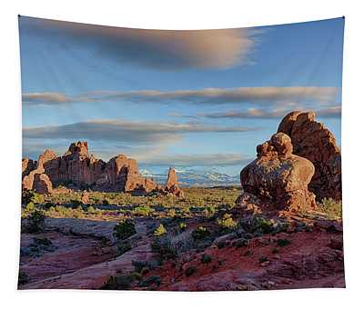 Red Rock Formations Arches National Park  Tapestry
