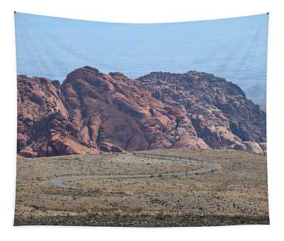 Red Rock Scenic Drive Tapestry