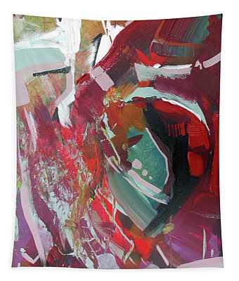 Red Tweak Tapestry