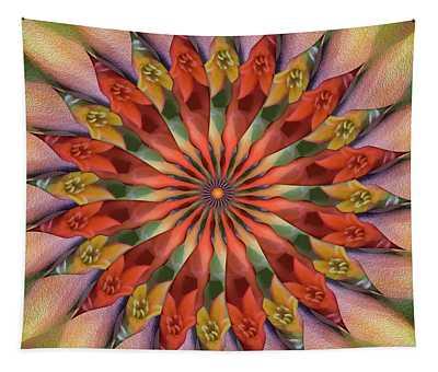 Red Velvet Quillineum Tapestry
