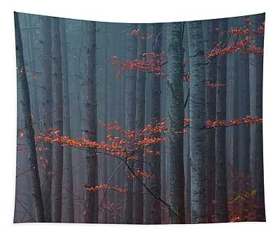 Red Wood Tapestry