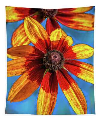 Red Yellow #i1 Tapestry