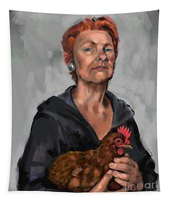 Redheads Tapestry