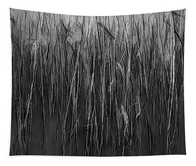 Reeds Abstract Bw #i1 Tapestry