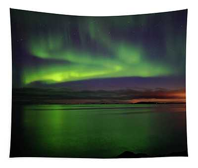 Reflected Aurora Tapestry