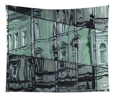 Reflection On Modern Architecture Tapestry