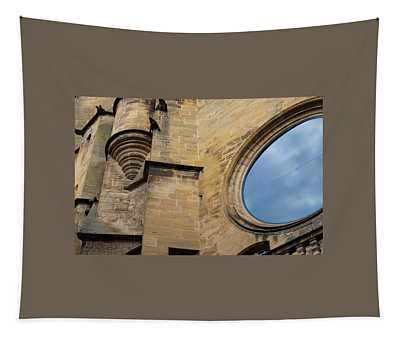 Reflection, Sarlat, France Tapestry