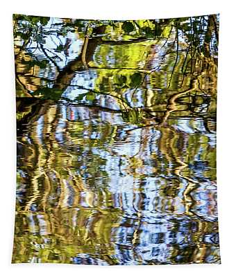 Reflections In Blue Tapestry