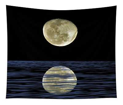 Reflective Moon Tapestry