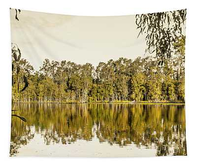Reflective Rivers Tapestry