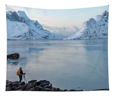 Reine, Lofoten 10 Tapestry