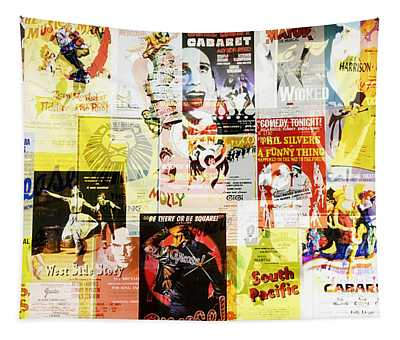Remembering Broadway Tapestry