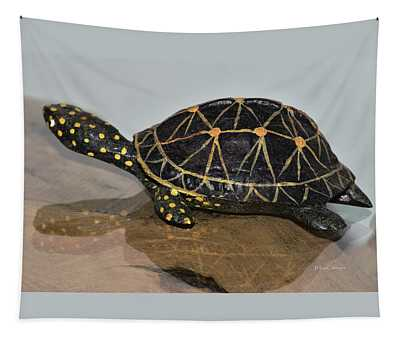 Replica Turtle And Shadow Tapestry