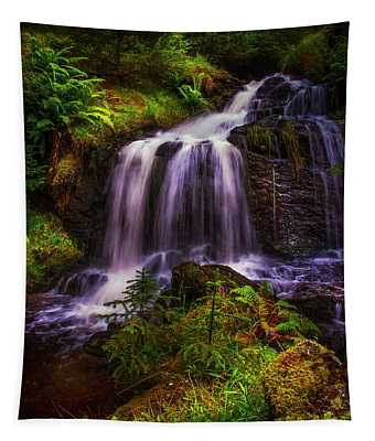 Retreat For Soul. Rest And Be Thankful. Scotland Tapestry