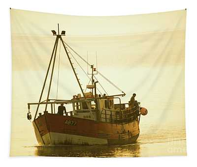 Returning To Harbour Tapestry