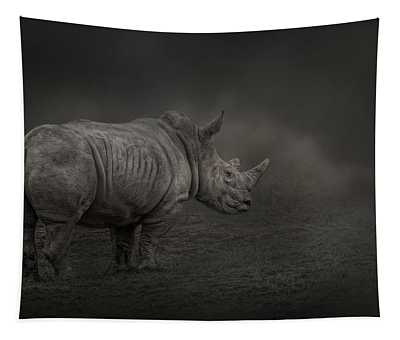 Rhino Land Tapestry