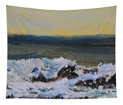 Rhythm Of The Waves Tapestry