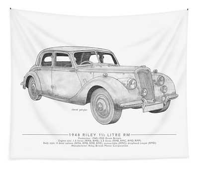Riley 1.5 Litre Rm Saloon Tapestry
