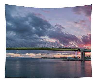 Rio - Antirrio Bridge Tapestry