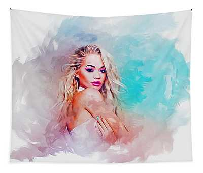 Rita Ora Tapestry