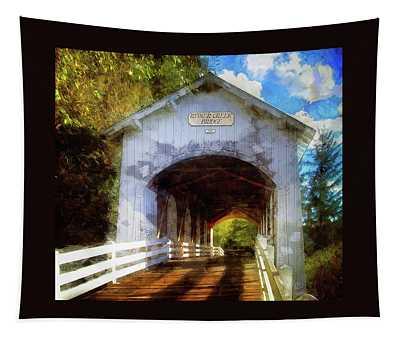 Ritner Creek Covered Bridge Tapestry