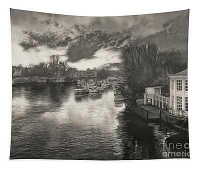 River At Hampton Court Tapestry