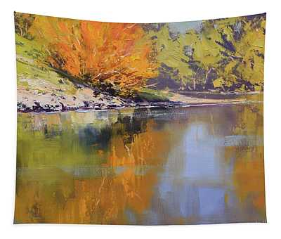 River Bank Reflections Tapestry