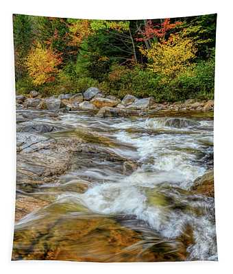River Cross, Swift River Nh Tapestry