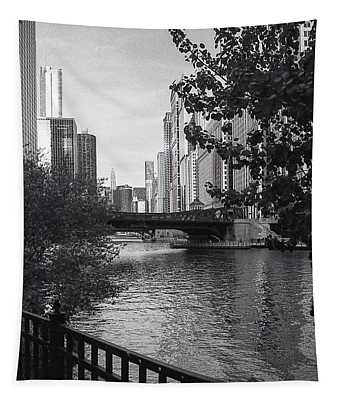 River Fence Tapestry