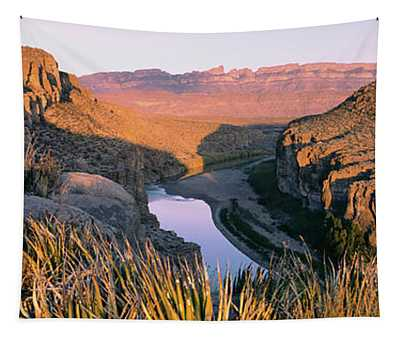 River Passing Through Mountains, Big Tapestry