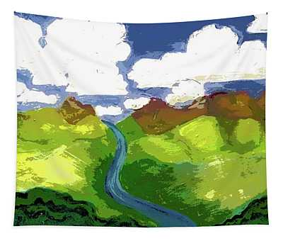 River To Sky Tapestry