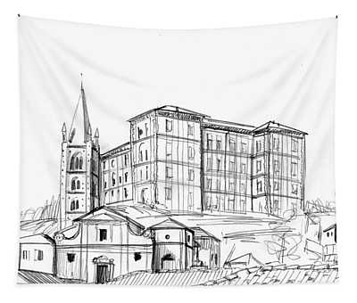 Rivoli Pencil Tapestry