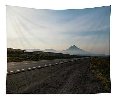 Road Through The Rockies Tapestry