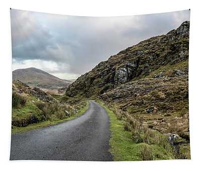 Road To Ballaghisheen Pass Ireland Tapestry