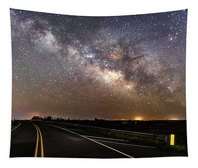 Road To Milky Way Tapestry