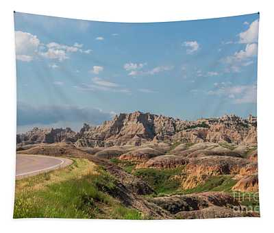 Road To The Badlands Tapestry