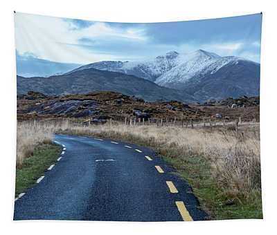Road To The Pass Tapestry