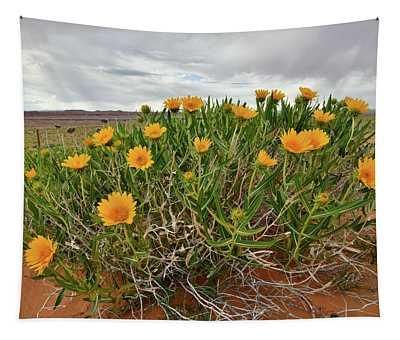 Roadside Wildflowers Along Highway 24 In Utah Tapestry