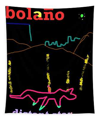 Roberto Bolano Poster Ds  Tapestry